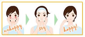 お肌の悩みは無添加石鹸洗顔がオススメ