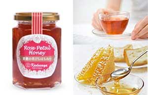 蜂蜜と紅茶とパン