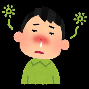 花粉症・アレルギーでぼーっと