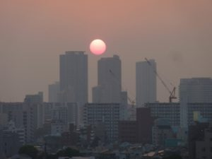 黄砂、PM2.5